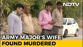 Throat Slit, Run Over By Car; Army Major's Wife Found Murdered In Delhi - NDTV