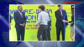 Video:मोदी ने पहले भारत-सिंगापुर हैकाथन के विजेताओं को किया सम्मानित