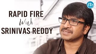 Rapid Fire With Actor Srinivas Reddy || #50WithVrinda || Talking Movies With iDream - IDREAMMOVIES