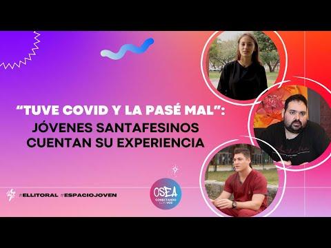 Convivir con la pandemia: jóvenes santafesinos cuentan su experiencia