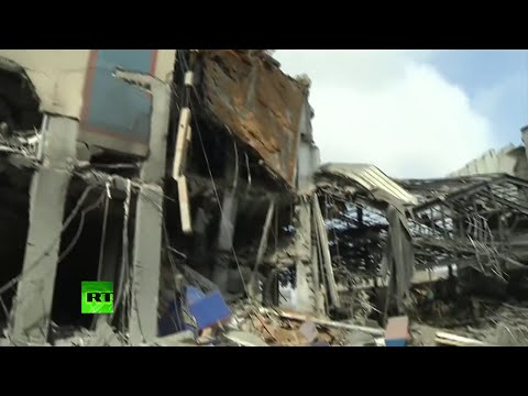 Video: Israel destruye las oficinas de la TV de Gaza y mata a 19 civiles