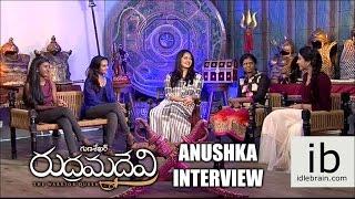 Anushka interview about Rudramadevi - idlebrain.com - IDLEBRAINLIVE