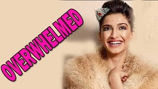Sonam Kapoor overwhelmed with 'Unexpected Sucess' | Bollywood News