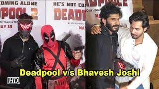 Deadpool v/s Bhavesh Joshi | When 2 Superheroes met - IANSLIVE