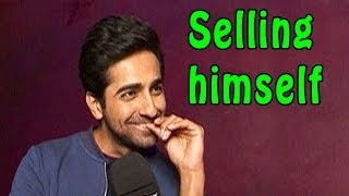 Bewakoofiyaan | Ayushmann Khurrana tries to sell himself