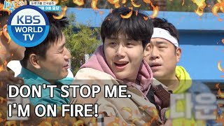 Don't stop me. I'm on FIRE! [2 Days & 1 Night Season 4/ENG/2020.04.05]
