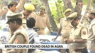 British couple found dead in Agra hotel - NDTV
