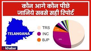Telangana Election Results 2018: Telangana में ECI के हिसाब से कौन कितना आगे? - ITVNEWSINDIA