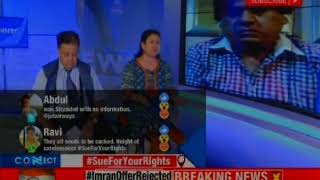 Shouldn't Jet Airways offer compensation to admit guilt  Connect with NewsX - NEWSXLIVE