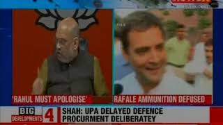'Truth Always Triumphs': Amit Shah Says SC's Rafale Order Exposes Rahul Gandhi - NEWSXLIVE