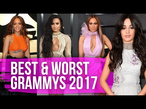 Best & Worst Dressed Grammy Awards 2017