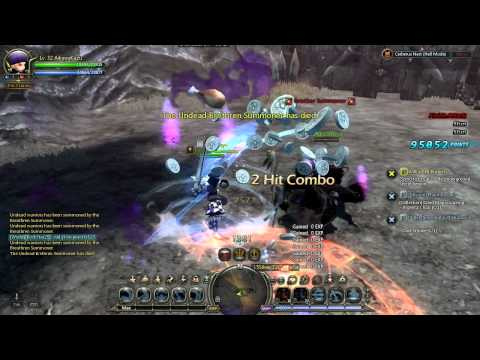 Dragon Nest SEA - Lvl32 Cerberus Nest Hell Solo Guide 1/2 [HD]
