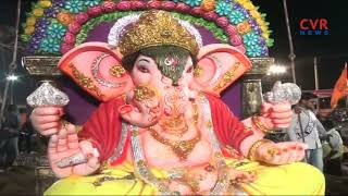 Ganesh Nimajjanam Celebrations in Warangal District | CVR News - CVRNEWSOFFICIAL