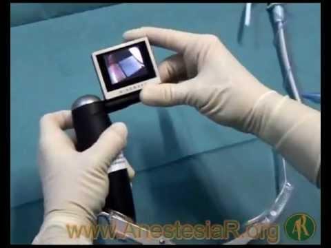 Uso del videolaringoscopio mcgrath