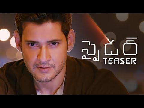SPYDER Telugu Teaser   Mahesh Babu   A R Murugadoss   SJ Suriya   Rakul Preet Singh   Harris Jayaraj