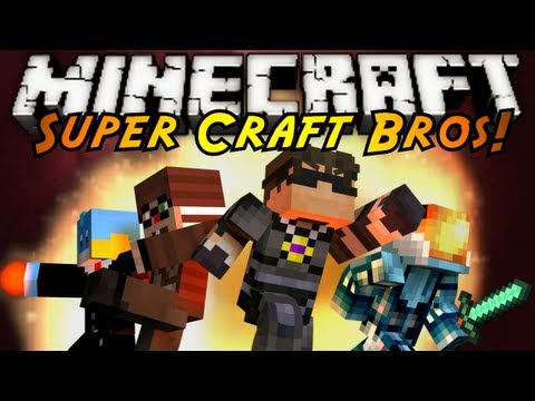 Minecraft Mini Game : SUPER CRAFT BROS BRAWL