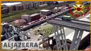 🇮🇹 Italy bridge collapse: Search for survivors continues | Al Jazeera english - ALJAZEERAENGLISH