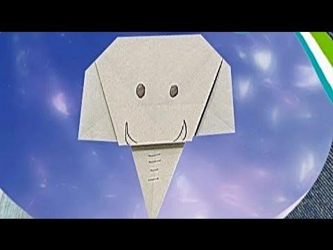 Çocuklar İçin Origami Elephant (Öğretici) – Kağıttan Arkadaşlar 17