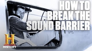 Speed Demons: How to Break the Sound Barrier | History - HISTORYCHANNEL