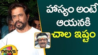 Actor Arjun Sarja Emotional Tribute to Kodi Ramakrishna | Director Kodi Ramakrishna | Mango News - MANGONEWS