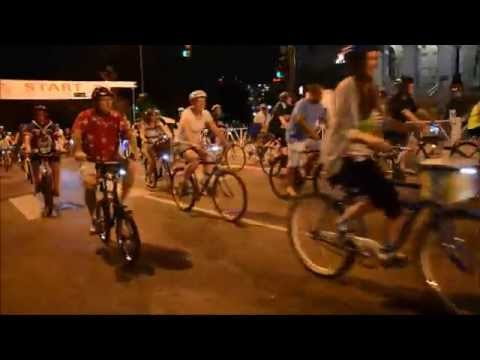 Denver 2014 Moonlight Classic Bike Ride Gonzo Wave