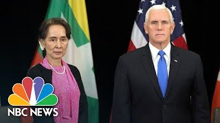 Mike Pence Criticizes Myanmar's Leader Over Human Rights Record | NBC News - NBCNEWS
