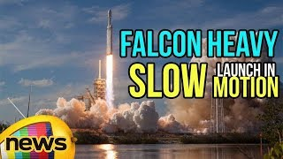 Watch the Space X Falcon Heavy Launch in Majestic Slow Motion | Mango News - MANGONEWS