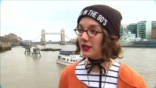 Edgy London street style garners its own attention - REUTERSVIDEO