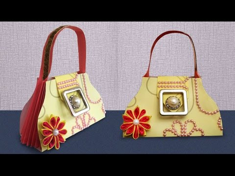 DIY Crafts : How to Make Easy Paper Gift Bag For Your Loved Ones | DIY Paper Craft Projects