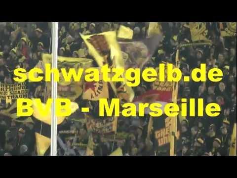 Borussia Dortmund vs Olympique Marseille 2-3 Pyro Champions League BVB - Marseille schwatzgelb.de