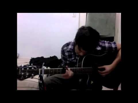 Mica Caldito Train - Soul Sister (Cover) w/ Andy Mckee wannabe thingy