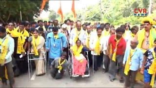 SASC Charitable Trust Provides Tirumala Srivari Darshan to Disabled, Poor & Orphans | CVR News - CVRNEWSOFFICIAL