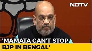 """Amit Shah Targets Mamata Banerjee, Says """"Nobody Can Stop Rath Yatra"""" - NDTV"""