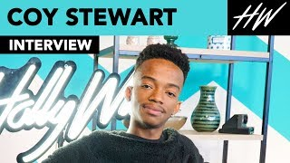 The Blacklist's Coy Stewart Admits He Was Scared To Work With James Spader! | Hollywire - HOLLYWIRETV