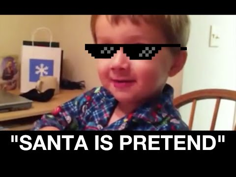 Talking to your kids about Santa...