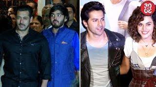 Salman Khan Avoids Ranbir Kapoor At Ambani's Party | Varun Has A Soft Corner For Taapsee