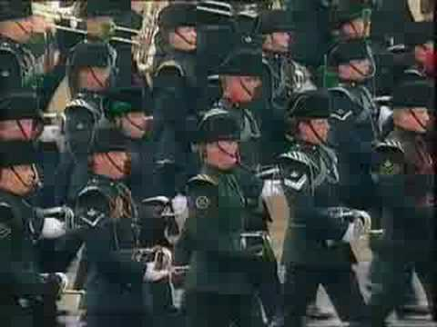 light division on horse guards 1993 pt1