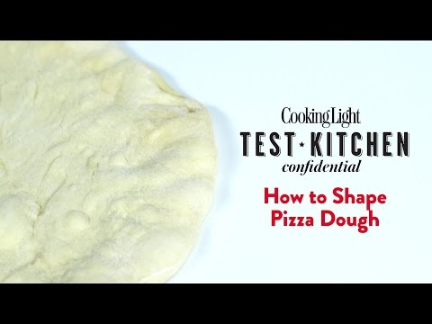 How to Shape Pizza Dough