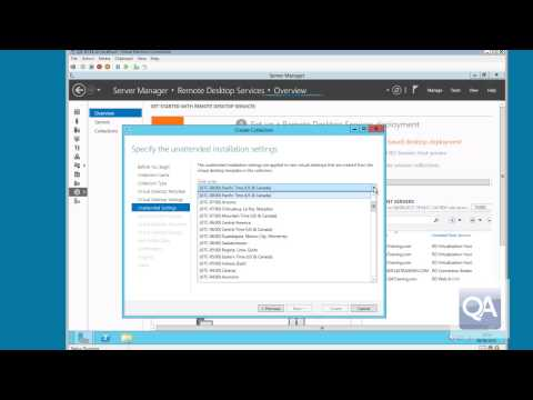 Windows Server 2012 Virtual Desktop Infrastructure Provisioning