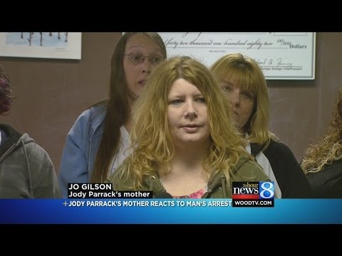 Jodi Parrack's mom, friend react to arrest in case