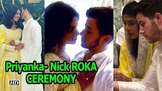 Priyanka- Nick ROKA CEREMONY | Celebrates their Relationship - IANSLIVE