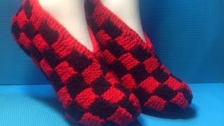 Вязание спицами домашние тапочки phentex slippers