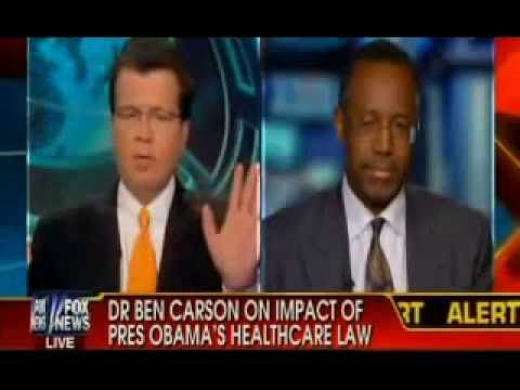 Dr. Benjamin Carson Back on FOX News, Against Obamacare:  Not the Way Intelligent People Do Things