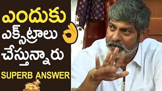 Jagapati Babu Superb Reply To Media Question About Nandi Awards Controversy | TFPC - TFPC