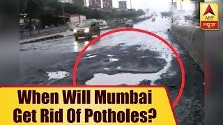 Mumbai suffers due to potholes as well - ABPNEWSTV