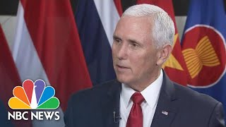 Mike Pence: 'Now We Need To See Results' On North Korea Denuclearization | NBC News - NBCNEWS