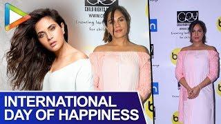 Richa Chadda Celebrates International Day Of Happiness | BIG Fm | Cry Foundation - HUNGAMA