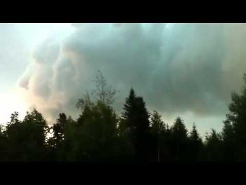 Mây Hình Mặt Quỷ