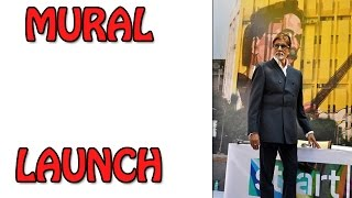 Amitabh Bachchan at Dadasaheb Phalke Mural launch | Bollywood News