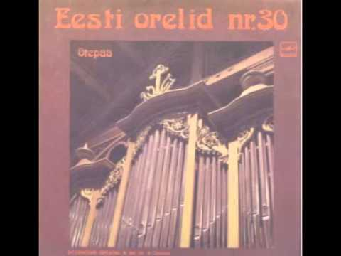 Rolf Uusväli plays Toccata sexti toni by Johannes Speth